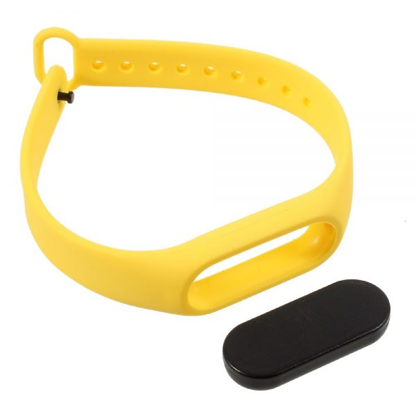 Remienok pre Xiaomi Mi Band 2 žltý