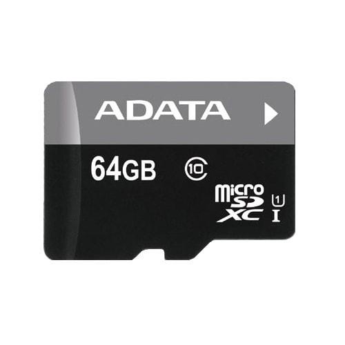 64 GB microSDHC UHS-I karta ADATA class 10 Ultra High Speed