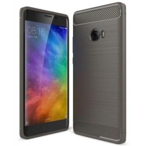 Štýlový a odolný gumený obal púzdro pre Xiaomi Mi Note 2 sivý