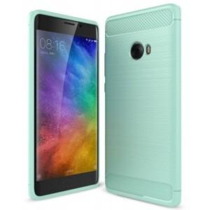 Štýlový a odolný gumený obal púzdro pre Xiaomi Mi Note 2 pepermintová