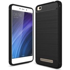 Štýlový a odolný gumený obal púzdro pre Xiaomi Redmi 4A čierny