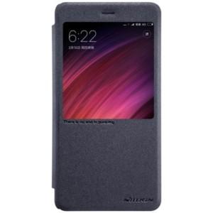 Elegantné kožené púzdro pre Xiaomi Redmi 4X čierne