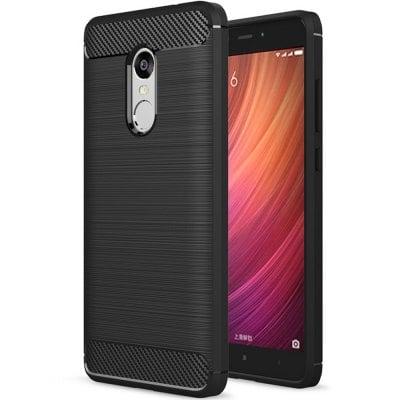 Štýlový a odolný obal púzdro pre Xiaomi Redmi Note 4 čierny