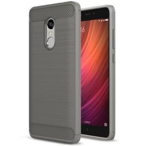 Štýlový a odolný obal púzdro pre Xiaomi Redmi Note 4 sivý