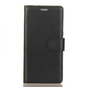 Elegantné kožené púzdro obal pre Xiaomi Mi A1 čierne