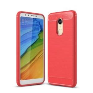 štýlové a odolné púzdro pre Xiaomi Redmi 5 Plus červené