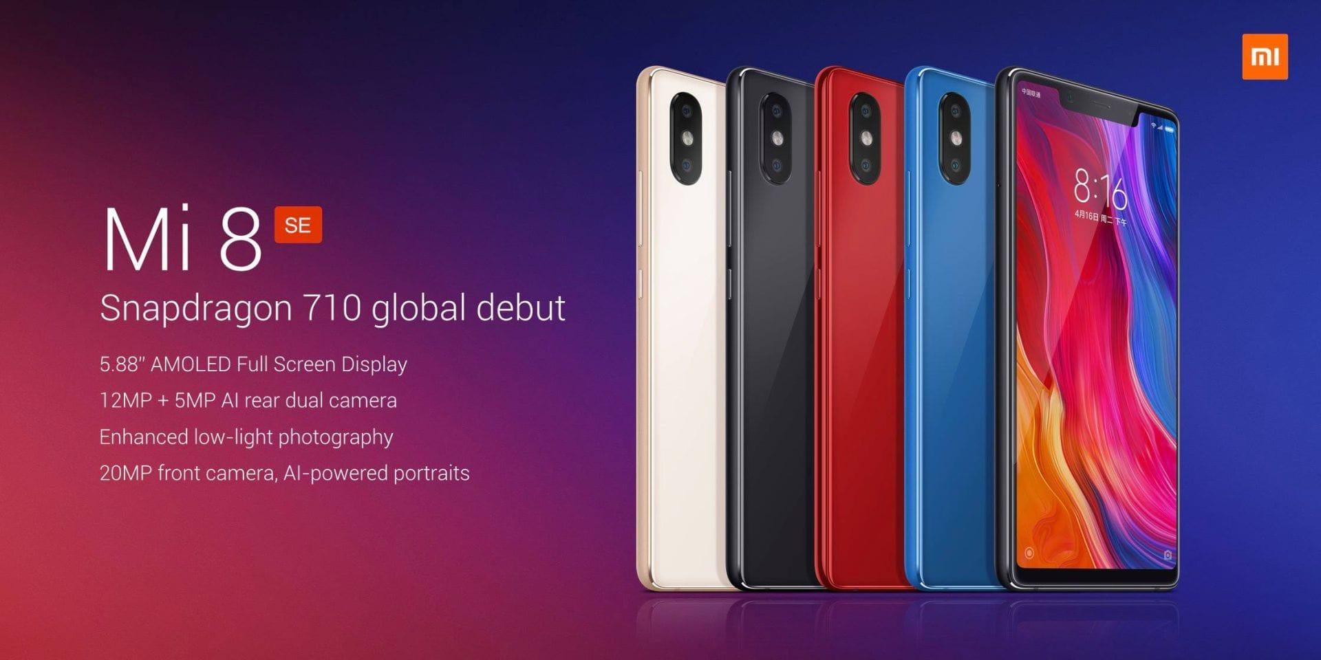 Xiaomi Mi 8 SE varianty
