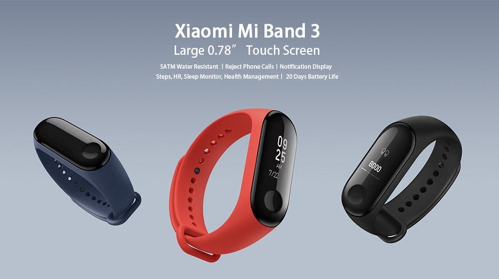 Xiaomi Mi Band 3 top fitnes naramok