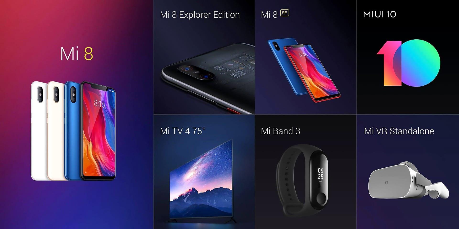 Xiaomi predstavenie noviniek 2018