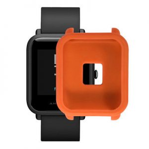 Ochranné puzdro pre Xiaomi Amazfit BIP oranžové