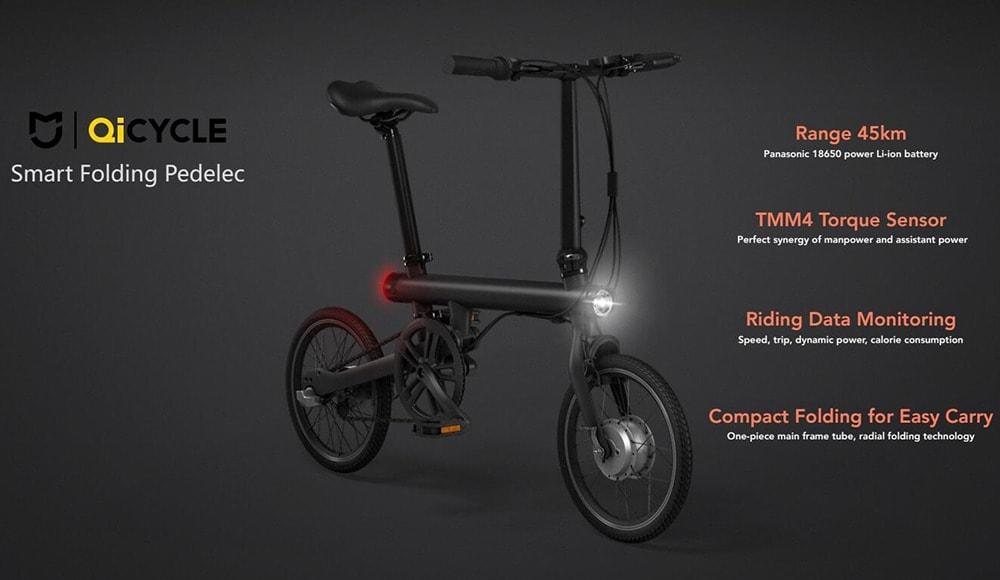 Elektrický bicykel QiCycle Xiaomi