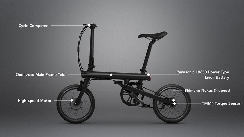 Elektrický bicykel QiCycle Xiaomi parametre a popis