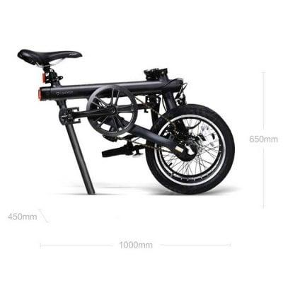 Xioami elektrický skladací bicykel rozmery