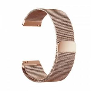 Luxusný oceľový remienok pre Xiaomi Amazfit Bip Rúžovo zlatý