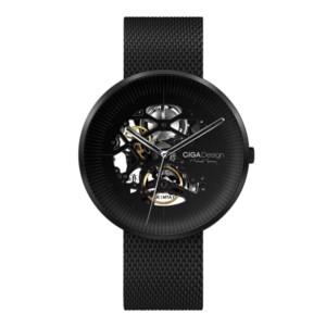 Mechanické hodinky Xiaomi okrúhle čierne