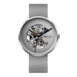 Mechanické hodinky Xiaomi Ciga okruhle strieborné