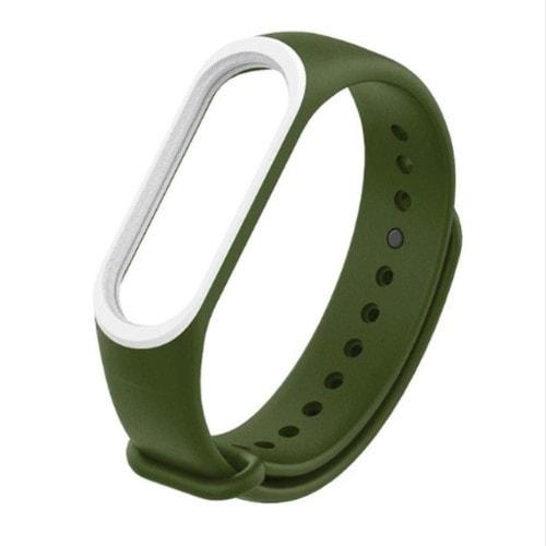 Remienok pre Xiaomi Mi Band 3 ZelenoBiely