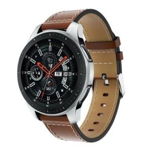 Elegantný kožený remienok pre Xiaomi Amazfit hodinky Hnedý