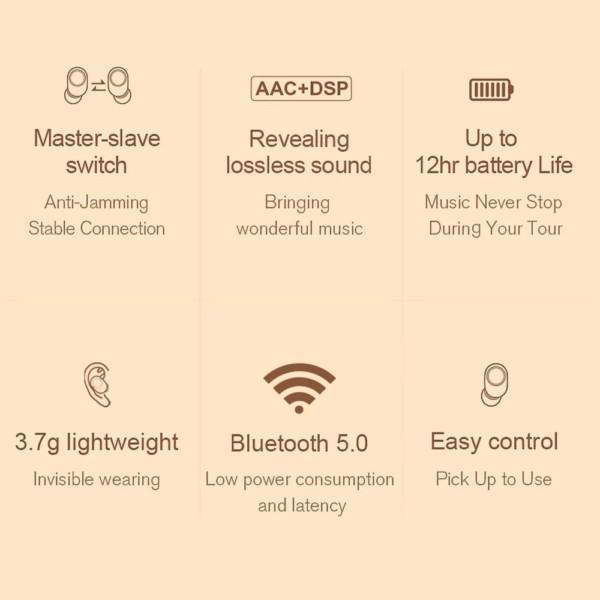 bezdrôtové slúchadlá Xiaomi haylou