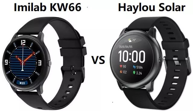 Xiaomi IMILAB KW66 vs Haylou LS05