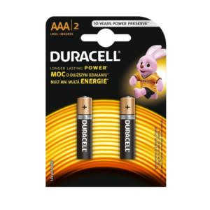 Duracell alkalické batérie AAA LR03 (2 kusy)