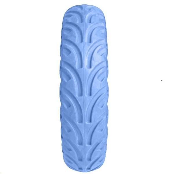 Modrá plná bezdušova gumená pneumatika pre Xiaomi kolobežky